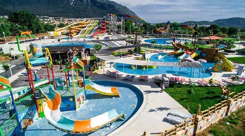 Oludeniz Water World - Fethiye Aquapark   Waterpark in Fethiye - Ovacik - Hisaronu - Turkey   Mobius Travel